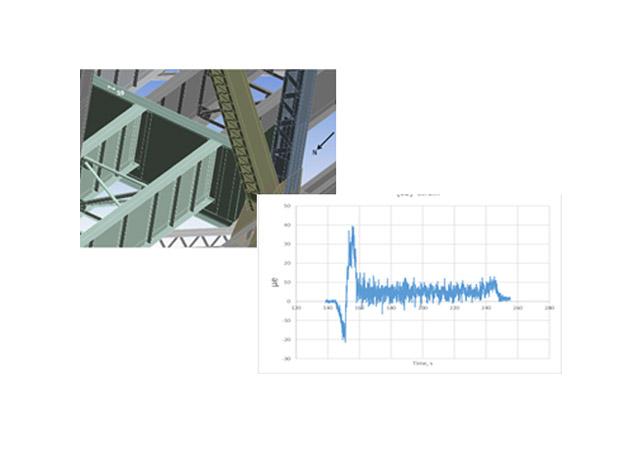 Sensors on QB bridge