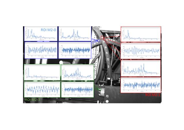Vibration monitoring using MAC