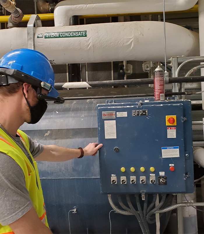 HVAC Commissioning in a commercial environment