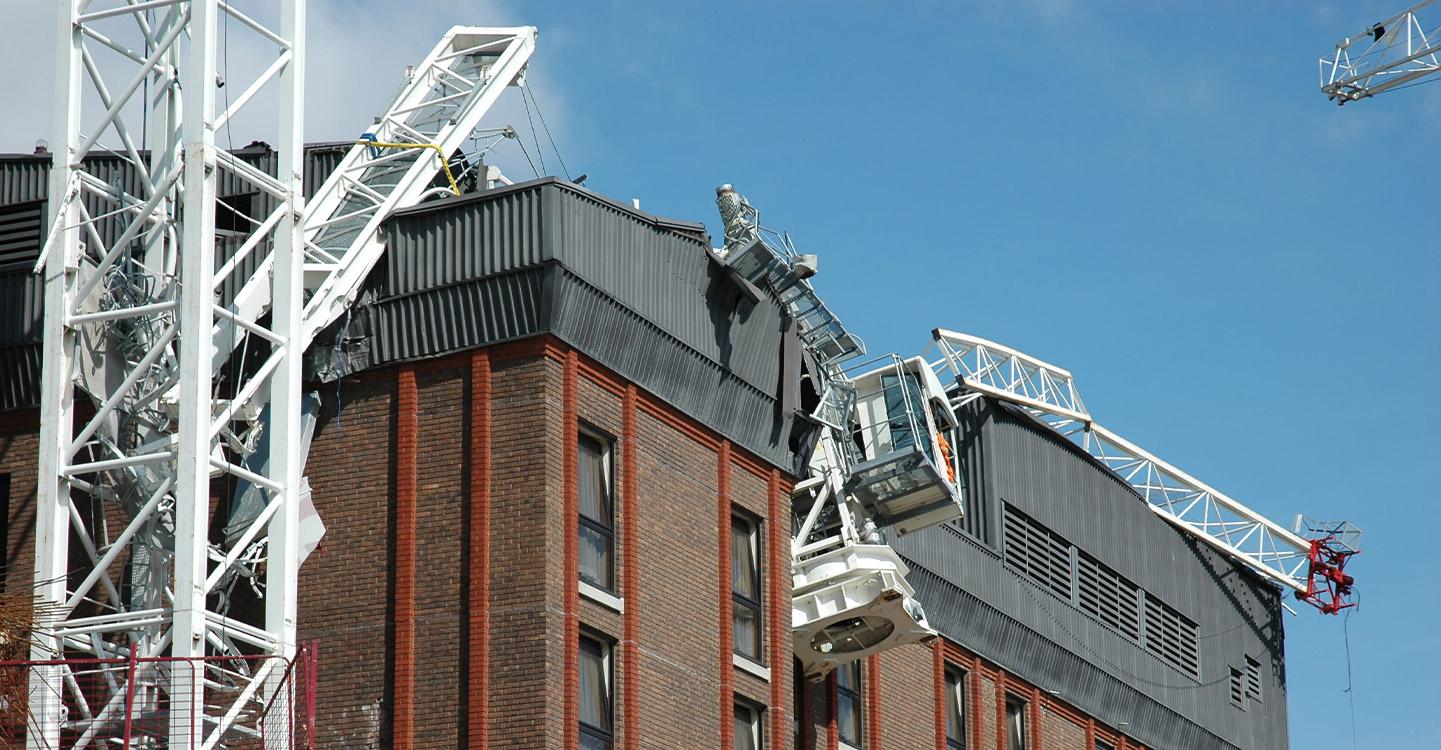 Crane Collapse Accident - Root Cause Failure Analysis Service SOCOTEC